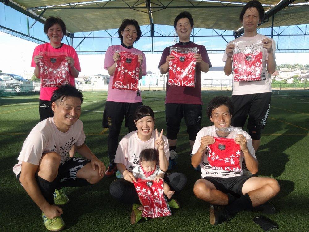 9/9(日)「skull kicks CUP」 ミックス2クラス大会 結果UPしました!