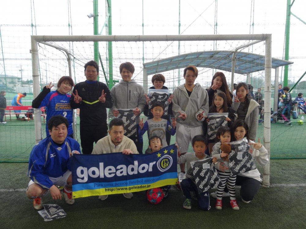 3/10(日)「goleador CUP」ミックス2クラス大会 結果UPしました!