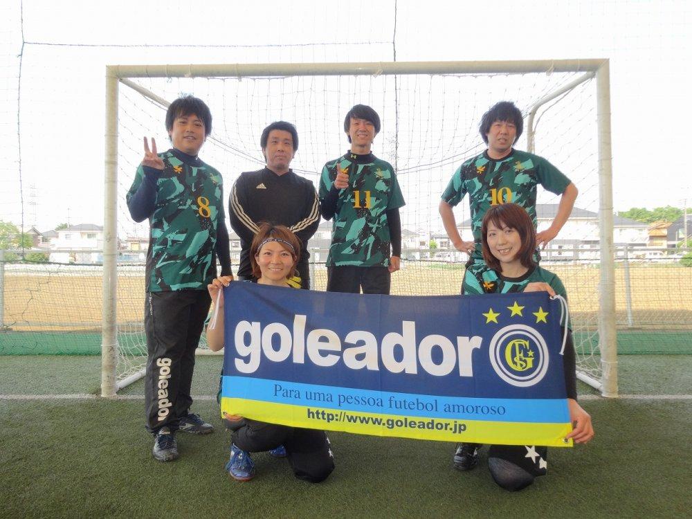 5/12(日)「goleador CUP」ミックス2クラス大会 結果UPしました!