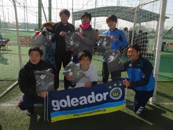 「goleador CUP」ファースト1クラス大会