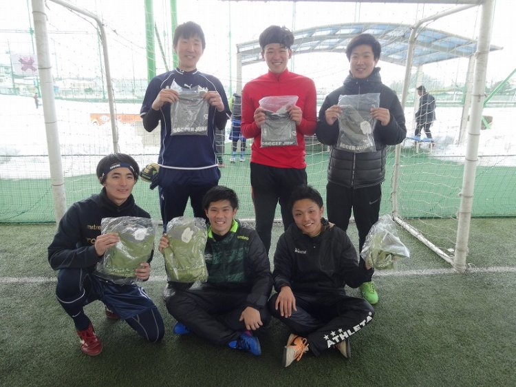 「soccer junky CUP」エコノミー1クラス大会