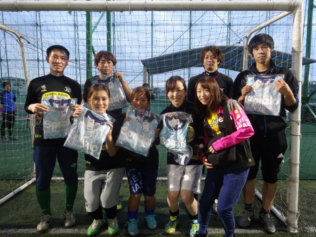 「spazio CUP」 ミックス2クラス大会