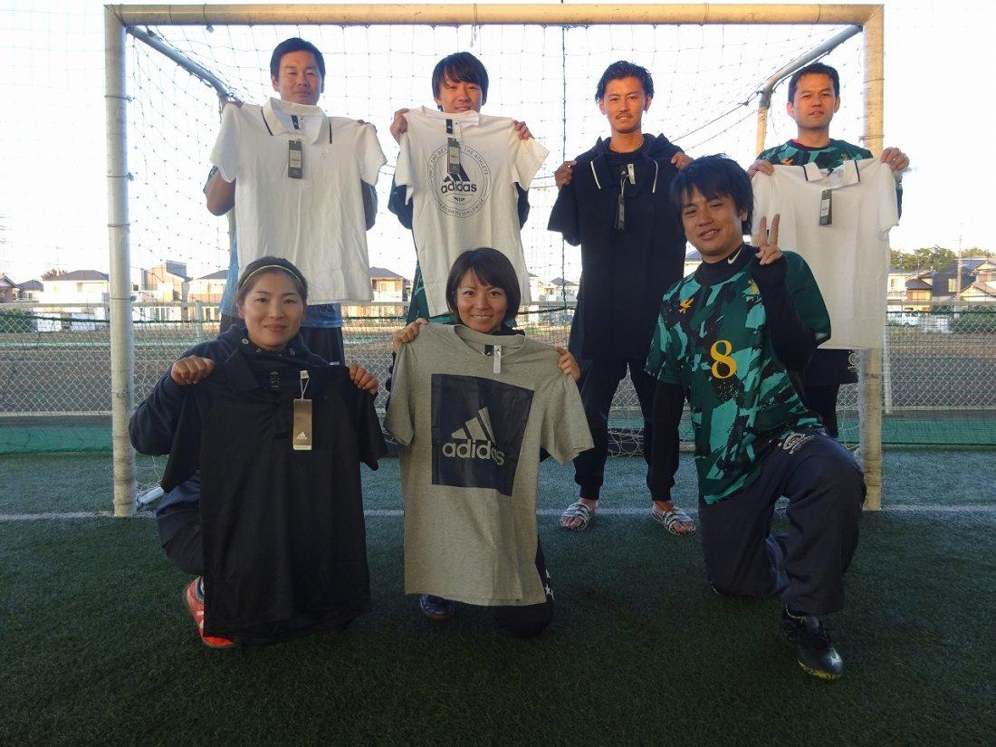 「adidas CUP」 ミックス2クラス大会