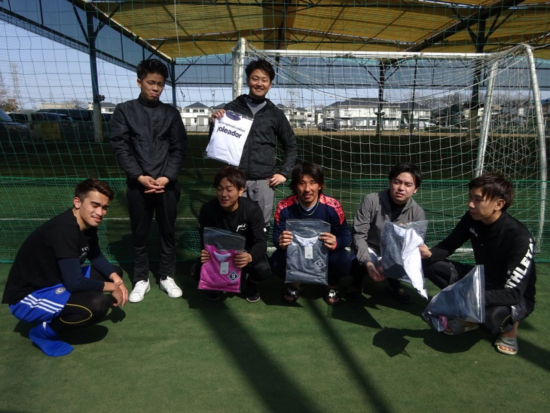 「goleador CUP」 ファースト2クラス大会