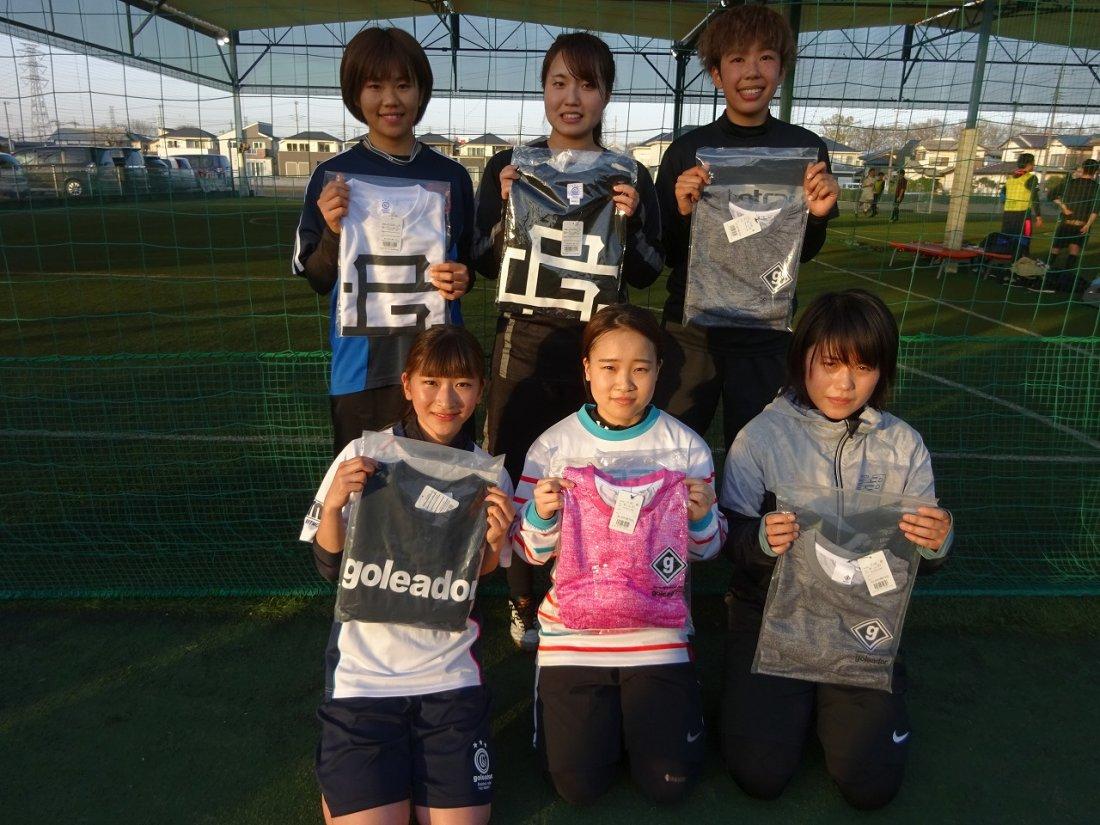 「goleador CUP」 レディースクラス大会