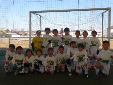 準優勝 - 準優勝 川越バッハローサッカー少年団