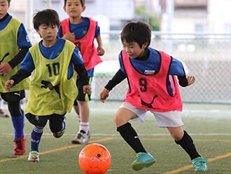 サッカーに必要な個人技術の習得