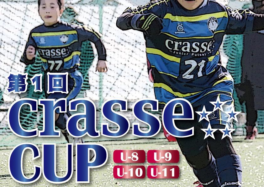 【ジュニアフットサル大会】クラッセカップ