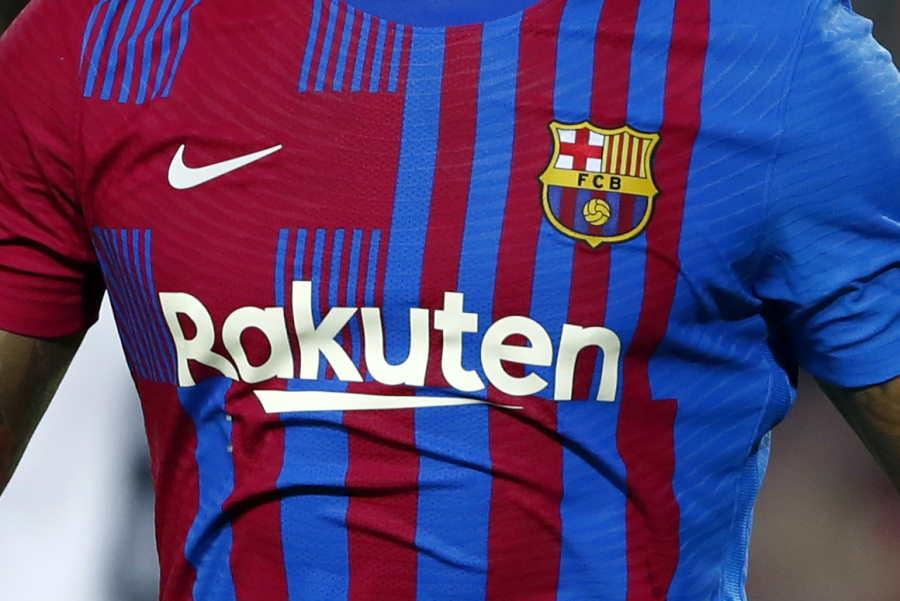 バルサから「Rakuten」が消える。契約が今季限りで終了へ