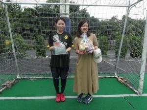 なでしこ賞 ナカヤマさん&ツジムラさん