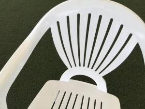 樹脂ガーデンチェア画像2