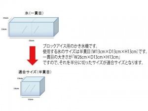 かき氷機 手動タイプ画像5