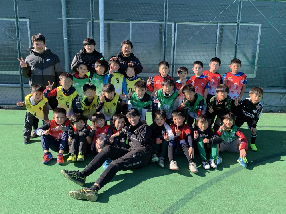 ジュニアサッカースクールの合宿を開催しました!