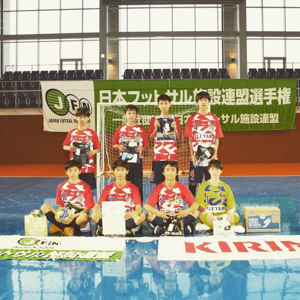 サポートチーム「クロスカラーズ」が日本一に!!
