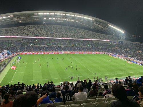 サッカー日本代表観戦!