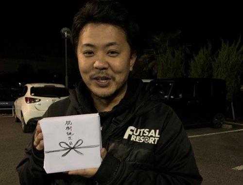 12月28日は鶴ヶ島店店長仲田のお誕生日でした